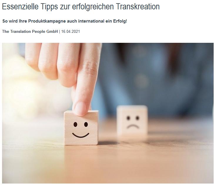 Essenzielle Tipps zur erfolgreichen Transkreation